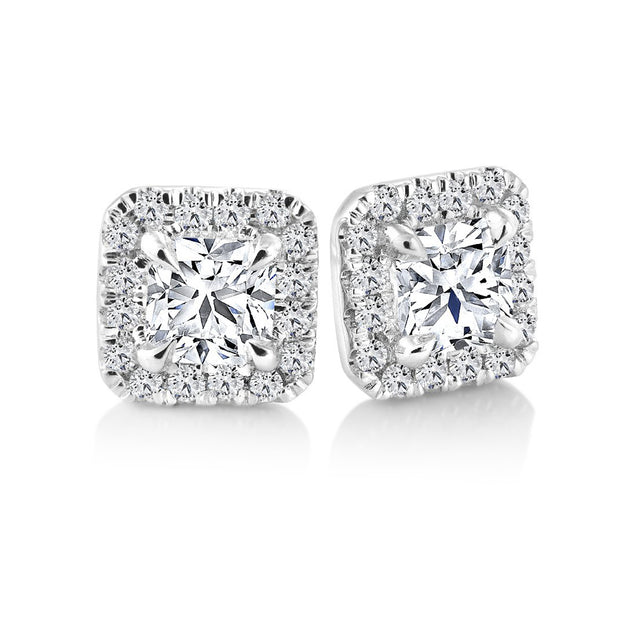 CR-E115444 - 14 K Gold and 0.76 Ctw  Diamond Earring