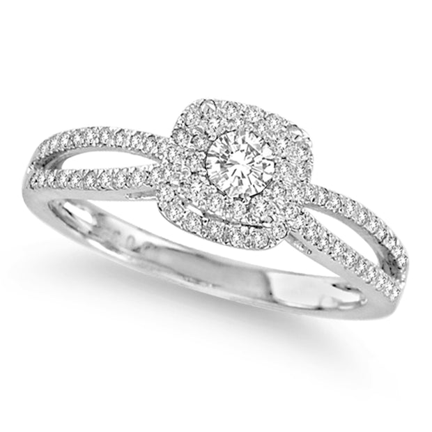 14K  0.35CT DIAMOND RING