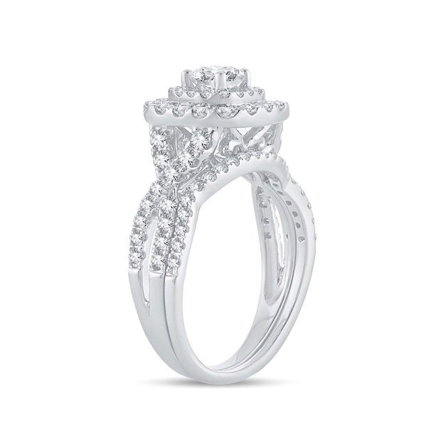 14K 1.48CT DIAMOND RING