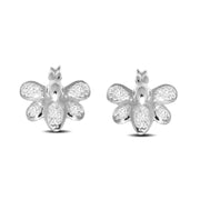 10K White Gold 0.03 Ctw. Diamond Stud Earrings