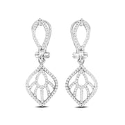 14K White Gold 0.35 Ctw. Diamond Stud Earrings
