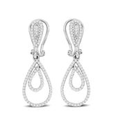 14K White Gold 0.4 Ctw. Diamond Stud Earrings