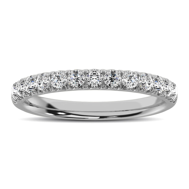 10K White Gold 1/2 Ctw Annivesary Band