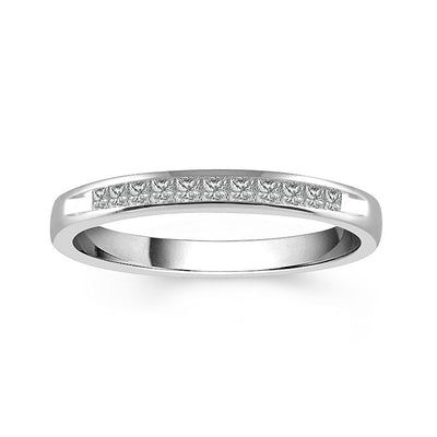 14-k-white-gold-0.25-ctw-princess-cut-diamond-channel-set-wedding-ring-Fame-Diamonds