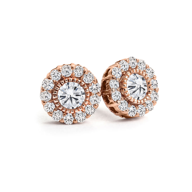 CR-E3823 - 10K  /14K & 0.26 TW Canadian Diamond Earrings