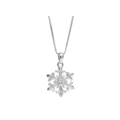 CR-P52444 - 10K White Gold Canadian Diamond Pendant