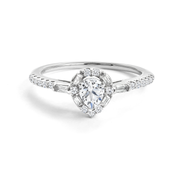 CR-R223806 - 14K White Gold Canadian Diamond Engagement Ring