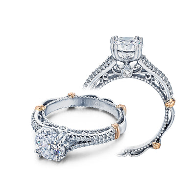 D-111 - Verragio - 14K 0.20ctw Semi- Mount Engagement Ring