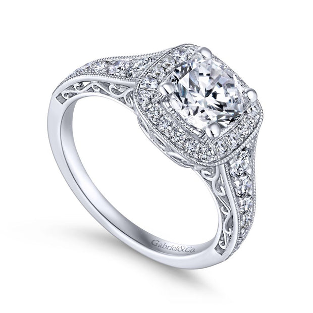 14k-white-gold-0-6-diamond-cushion-shape-halo-and-filigree-and-milgrain-engagement-ring-fame-diamonds