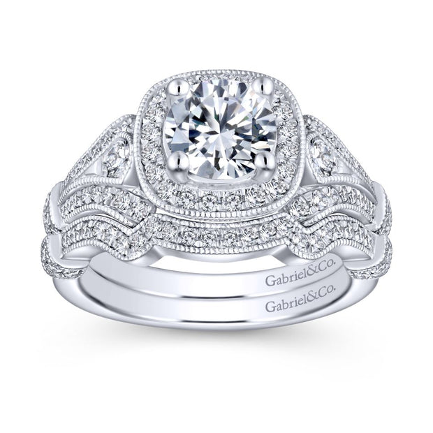 14k-White-Gold-0.42-ctw-Diamond-Gabriel-&-Co.-ER7479W44JJ-Halo-Cushion-Engagement-Ring-Fame-Diamonds