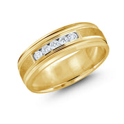 mens-5-diamond-center-brushed-yellow-gold-wedding-band-fame-diamonds