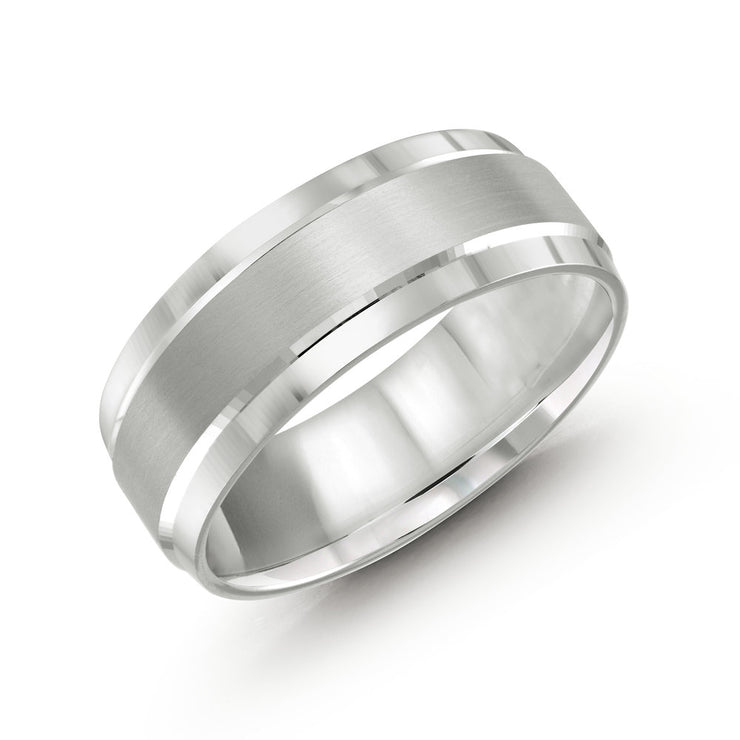 mens-brushed-and-polished-white-gold-wedding-band-8mm-fame-diamonds