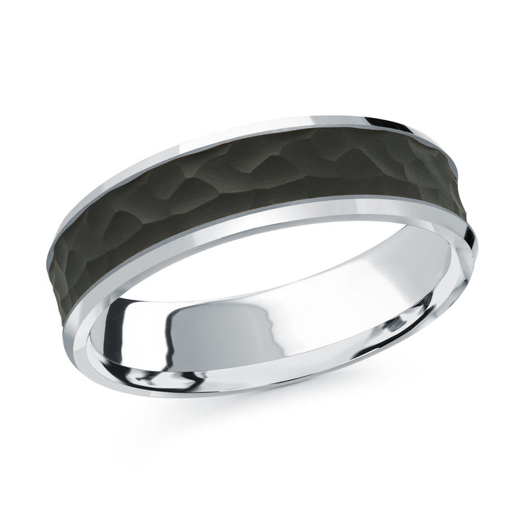 carbon-fiber-hammer-finish-14k-white-gold-satin-finish-inlay-mens-wedding-band-6-mm-fame-diamonds