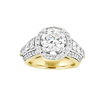 Right Hand Fancy Diamond Ring