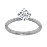 Solitaire Engagement Diamond Ring