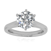 18k wg with GIA 1.52ct center stone, Solitaire Engagement Ring with GIA Diamond, GIA 7203545179