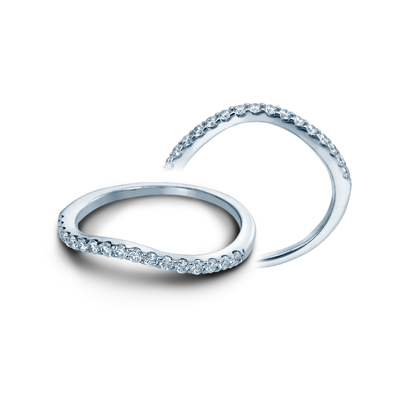 INS-7010W- Verragio - 14K 0.25ctw  Wedding Band
