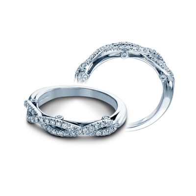 INS-7050W- Verragio - 14K 0.25ctw Wedding Band
