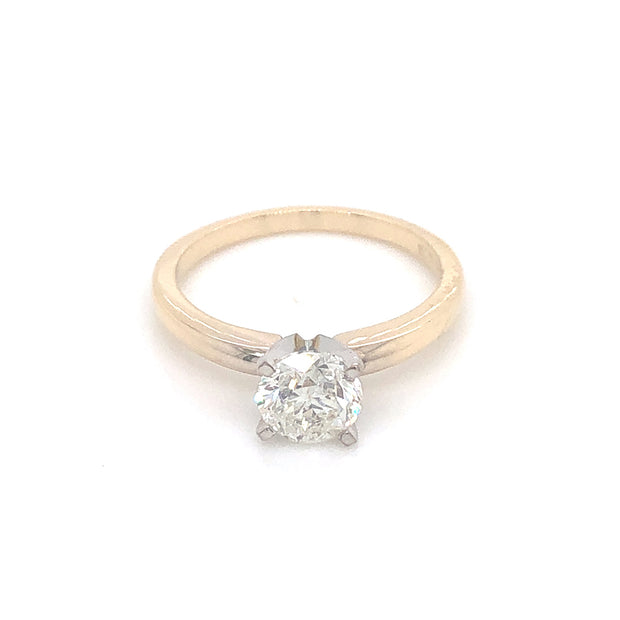 2-tone-14k-white-yellow-gold-classic-soliatire-diamond-engagement-ring-fame-diamonds