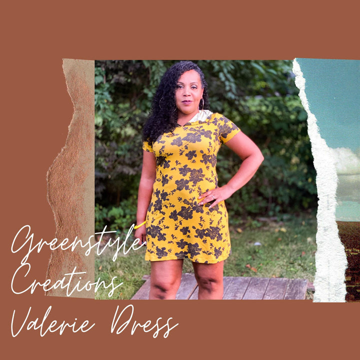 New Pattern Release: The Valerie Dress