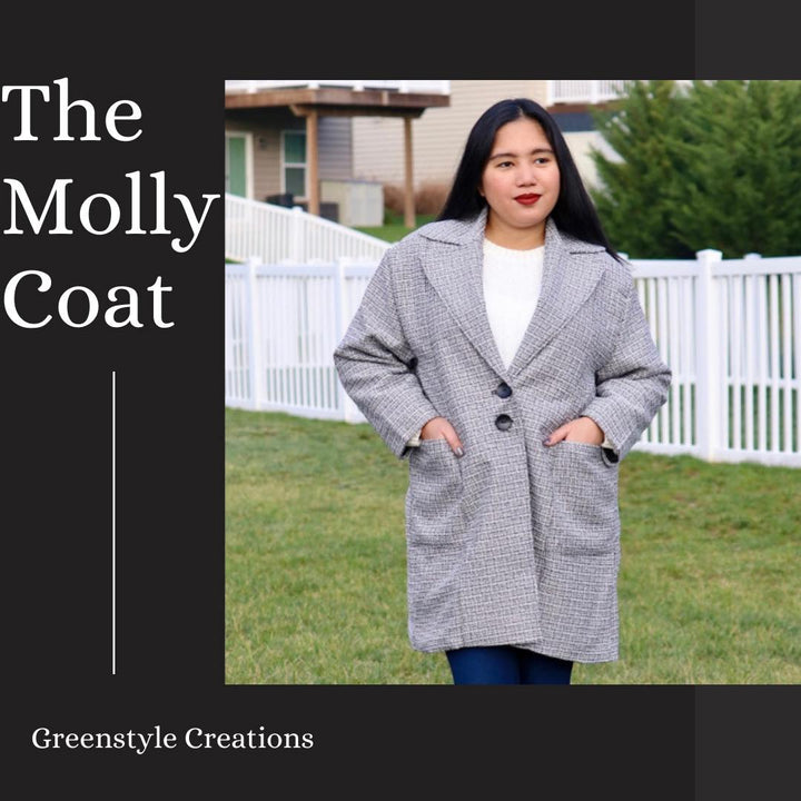 New Pattern Release: The Molly Coat