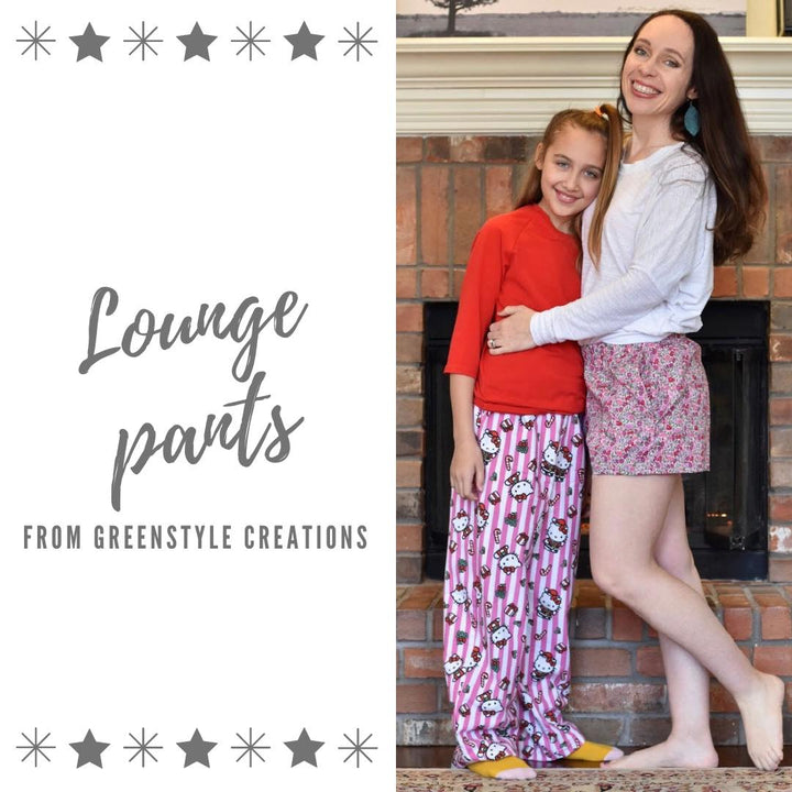 New Pattern Release: The Lounge Pants