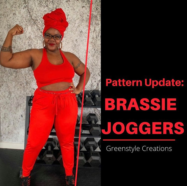 Pattern Update: The Brassie Joggers!