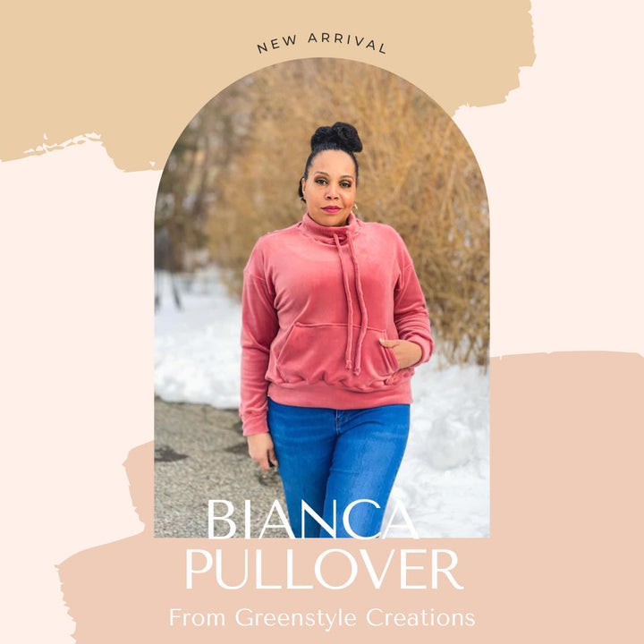 New Pattern Release: The Bianca Pullover
