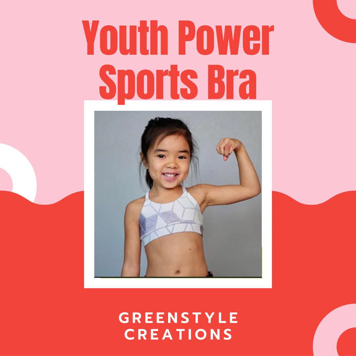 New Pattern Release: Youth Power Sports Bra