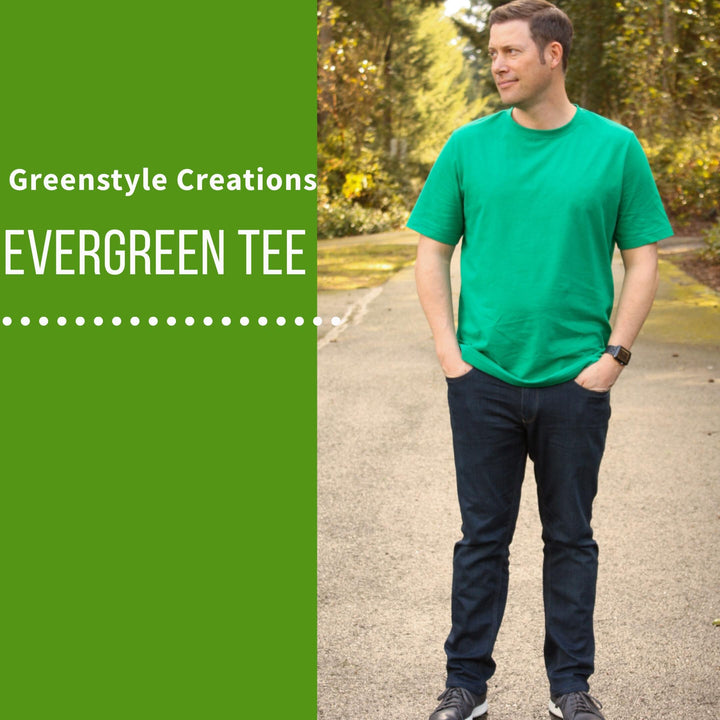 New Pattern Release: The Evergreen Tee