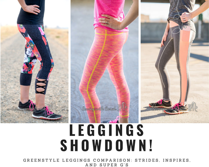 Athletic Leggings Comparison!