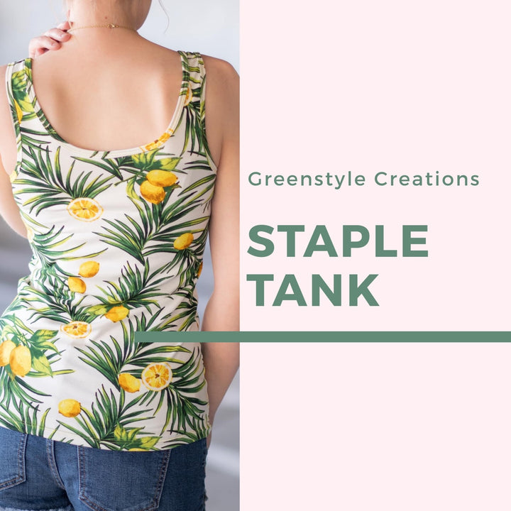 New Pattern Release: The Staple Tank