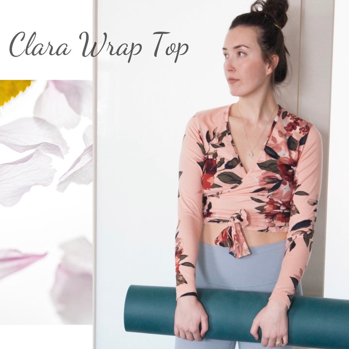 New Pattern Release: Clara Wrap Top