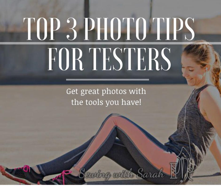 Top 3 Photography Tips for Testers!