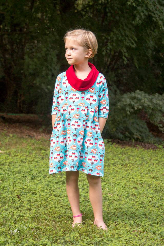 Laurelette Dress or Tunic PDF Sewing Pattern