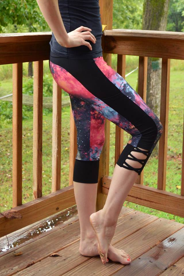 French Version - Stride Athletic Tights PDF Sewing Pattern