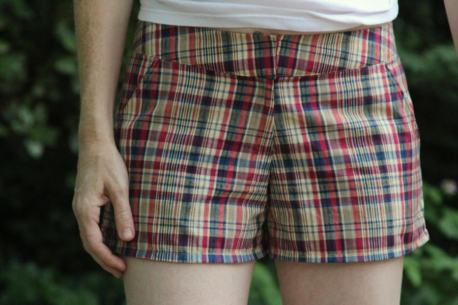 Taylor Shorts PDF Sewing Pattern in Sizes 0 to 18
