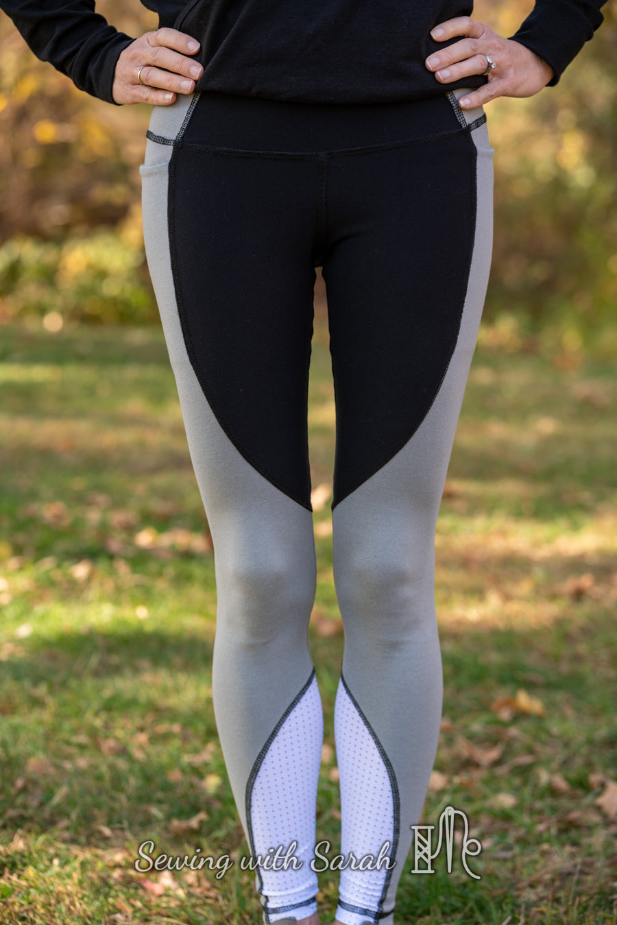 Tempo Athletic Tights PDF Pattern Sizes B - M