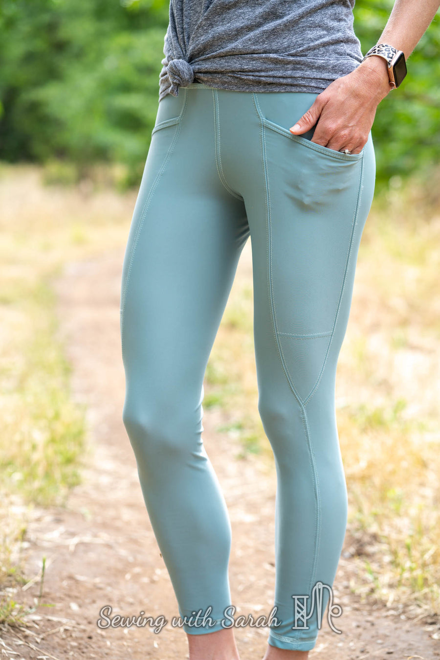 Cavallo Leggings PDF Pattern Sizes B - M