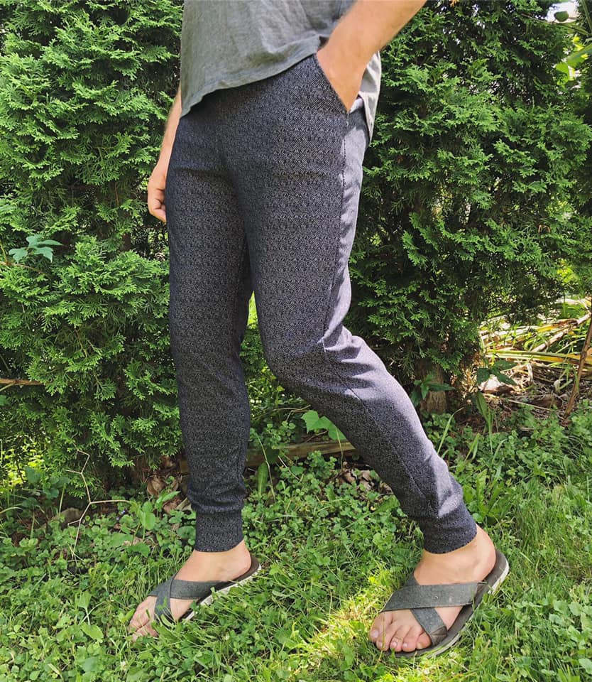 Iron Jogger PDF Sewing Pattern XXS to 4XL