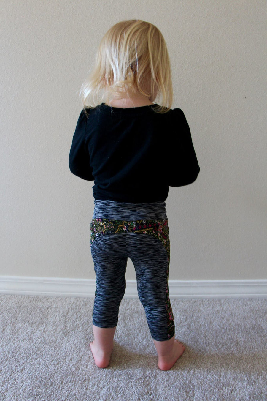 Girls Stride Athletic Tights Sewing Pattern in Sizes 2T to 12