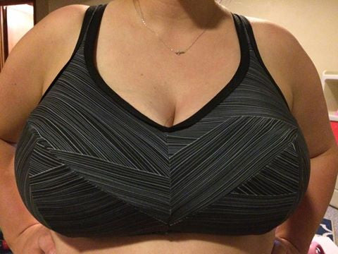 Endurance Sports Bra in Band Sizes 34 to 40 and Cups B - H