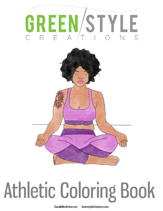 Greenstyle Athletic Coloring Book