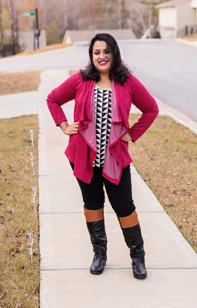 One Button Cardigan XS - 3XL
