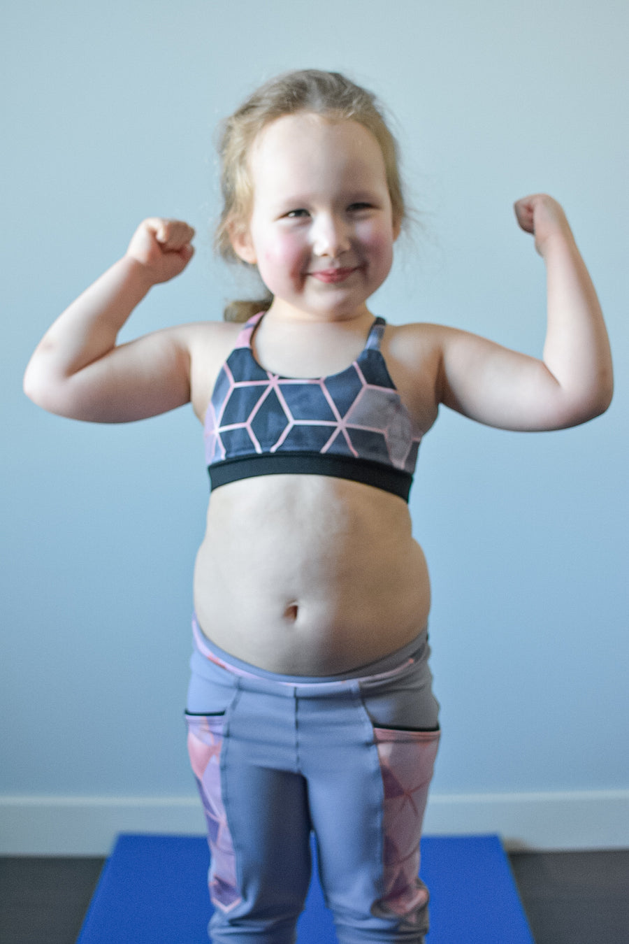 Youth Power Sports Bra PDF Sewing Pattern in Sizes 3 to 14