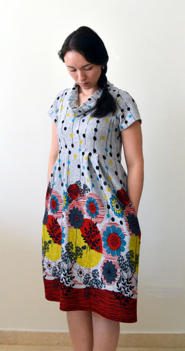 Laurel Dress or Tunic PDF Sewing Pattern in sizes XXS to 3XL