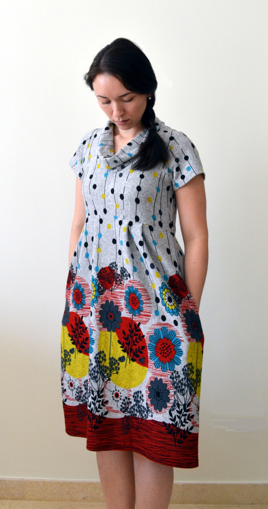 Laurel Dress or Tunic PDF Sewing Pattern in sizes XXS to 3XL and Plus to 3X