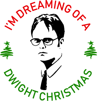 Dwight Christmas.Cut File Dwight Christmas Greenstylecreations