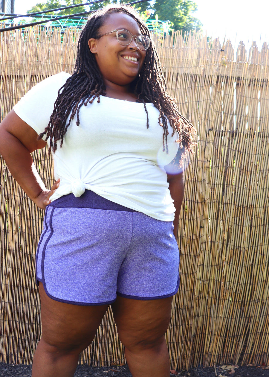 Venice Beach Shorts PDF Sewing Pattern in Sizes B - M