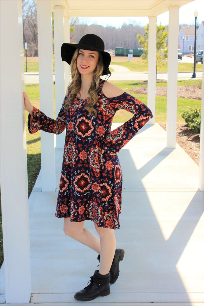 Scarlet Swing Dress PDF Sewing Pattern XXS to 3XL
